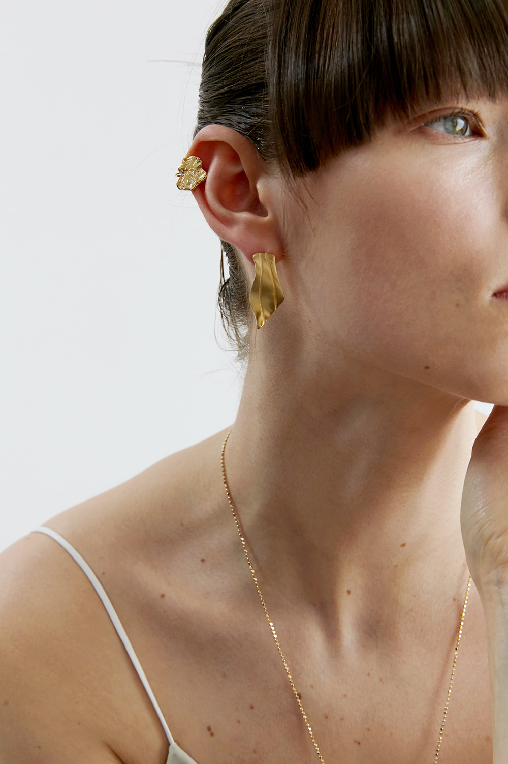 refraction ear-cuff
